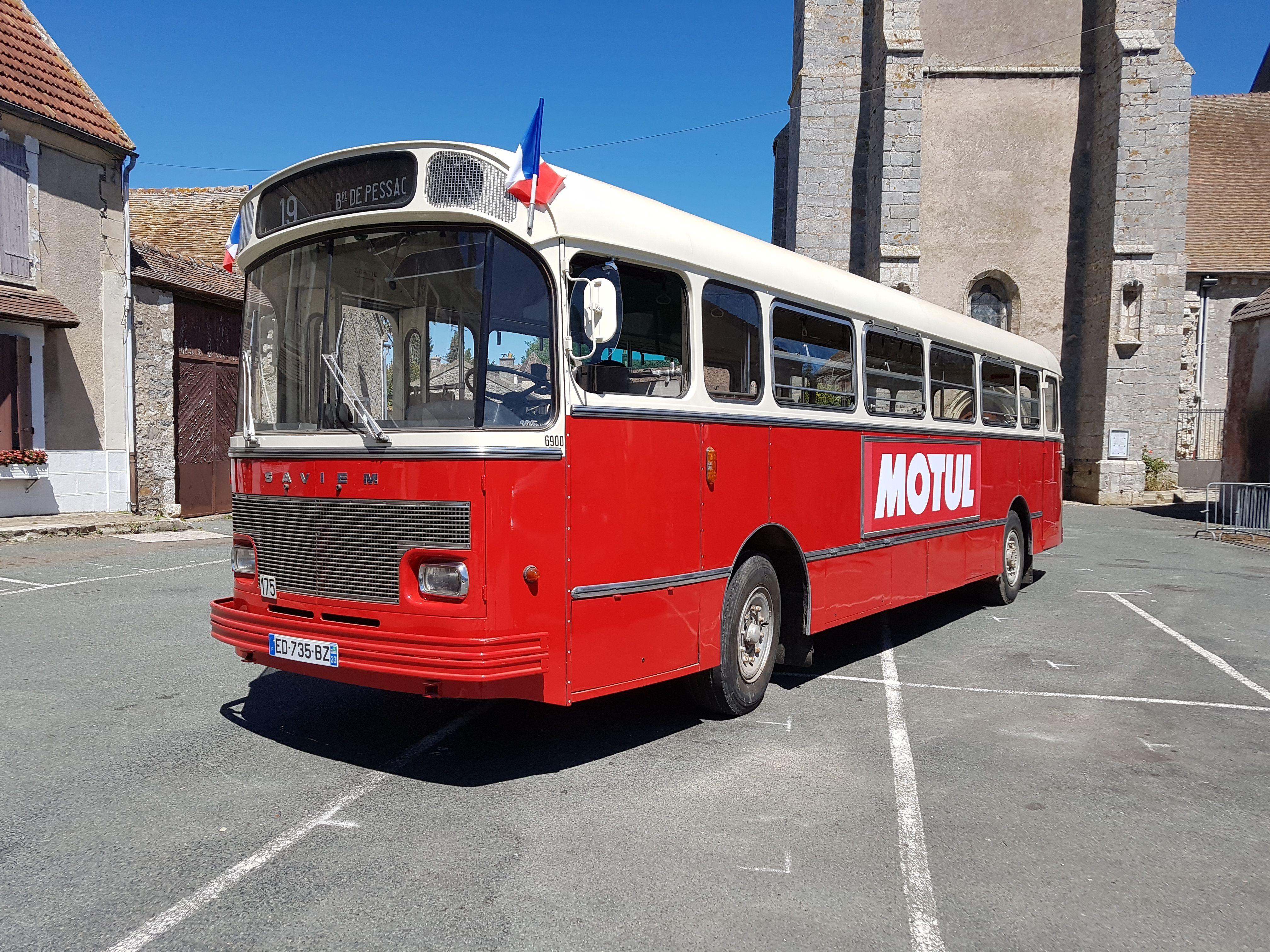 Autobus Saviem S 105 M - Calvados
