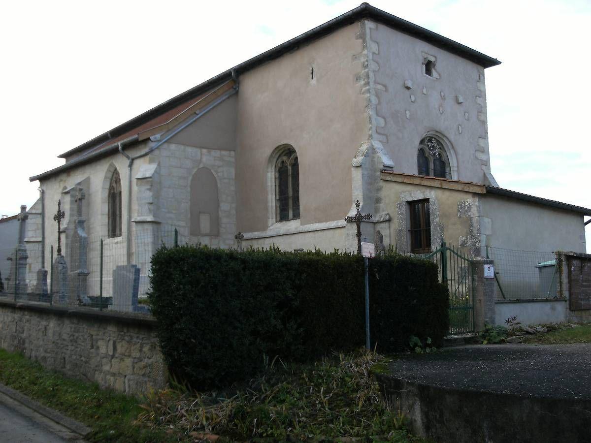 Eglise Saint-Georges de Ville-devant-Belrain en Meuse