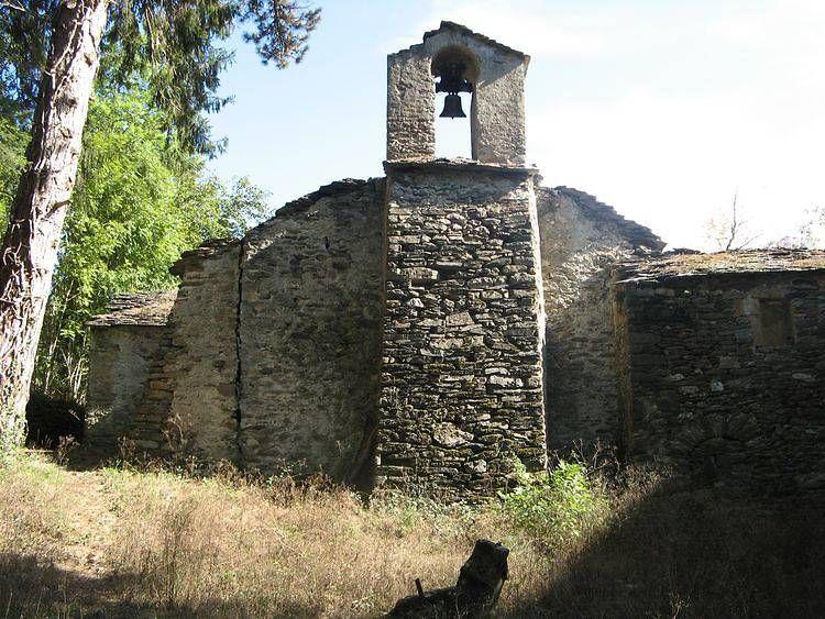 L'église de Saint-Julien d'Arpaon