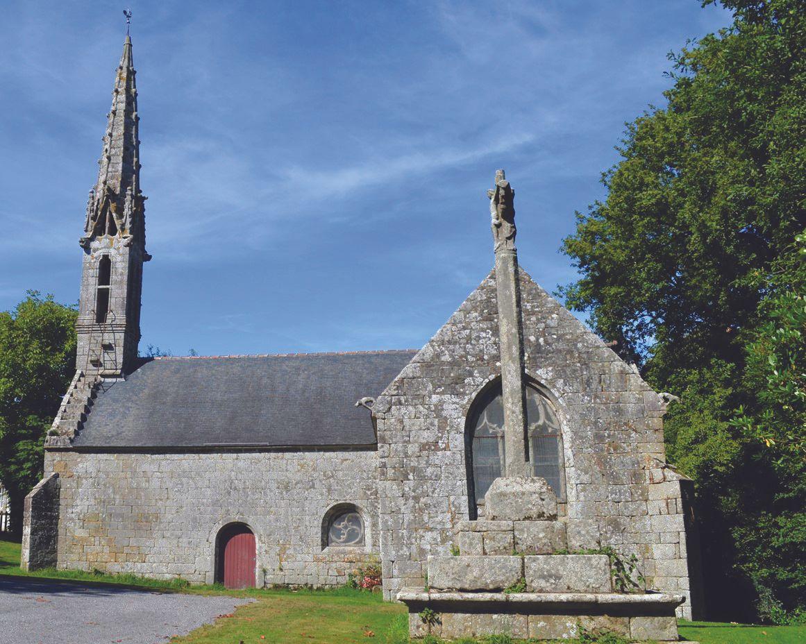 Chapelle Sainte-Cécile à Briec