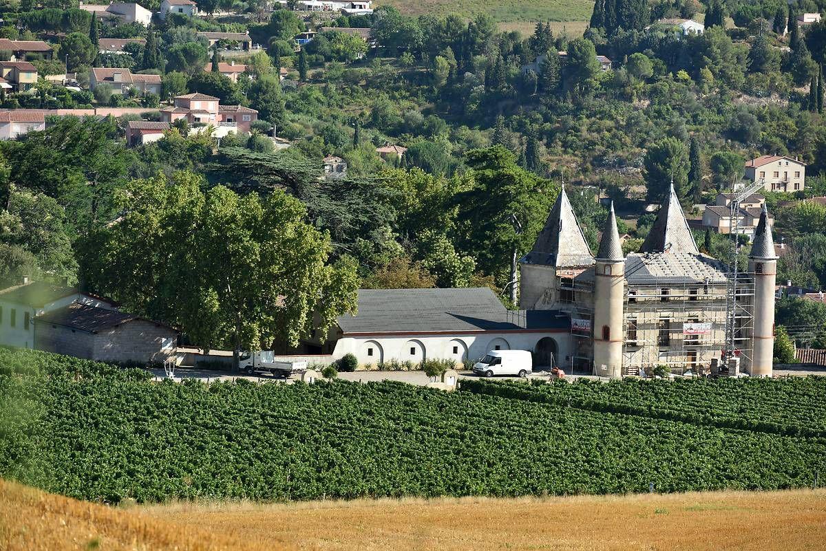 Le château de Flandry à Limoux