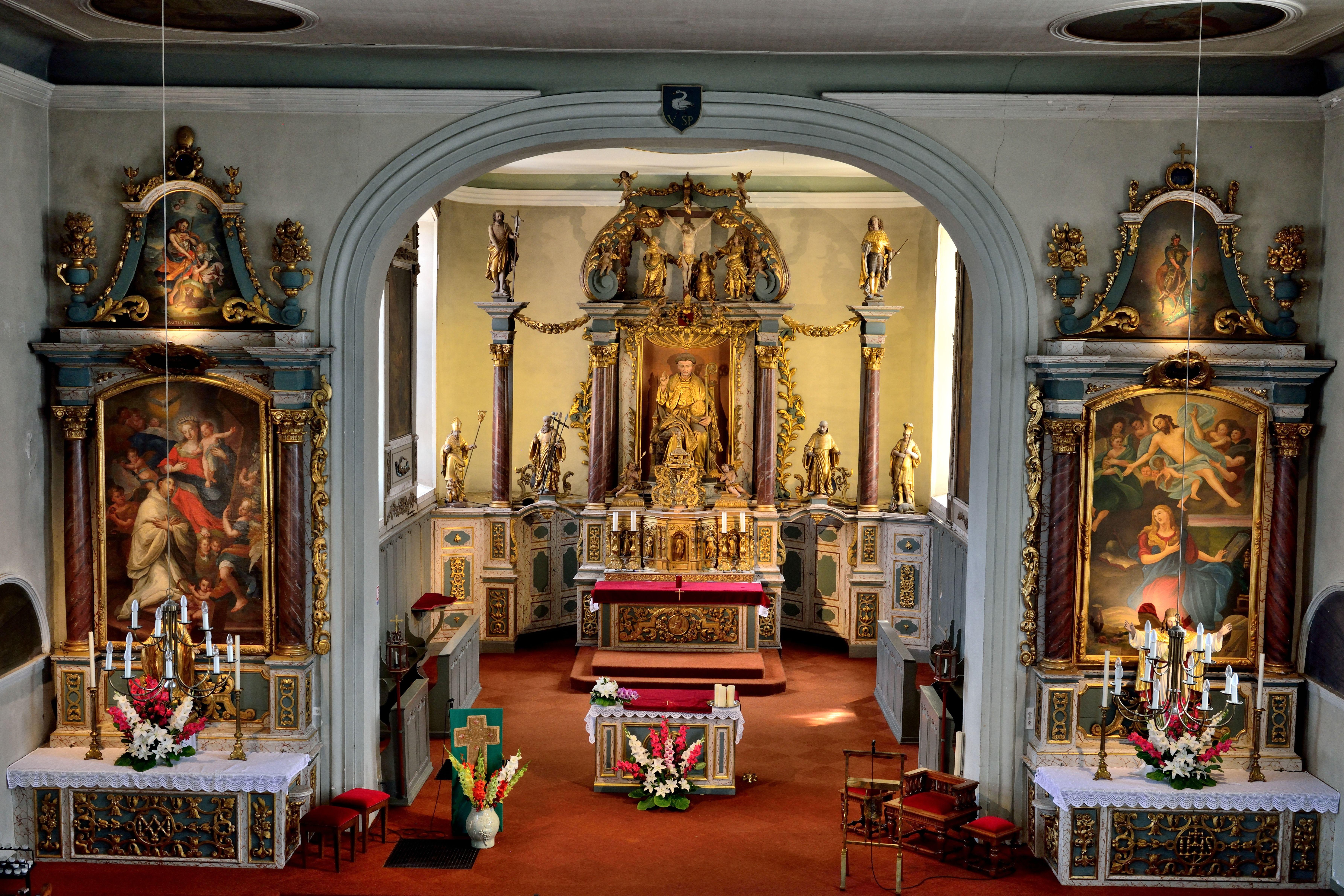 Eglise Saint-Gall de Folgensbourg