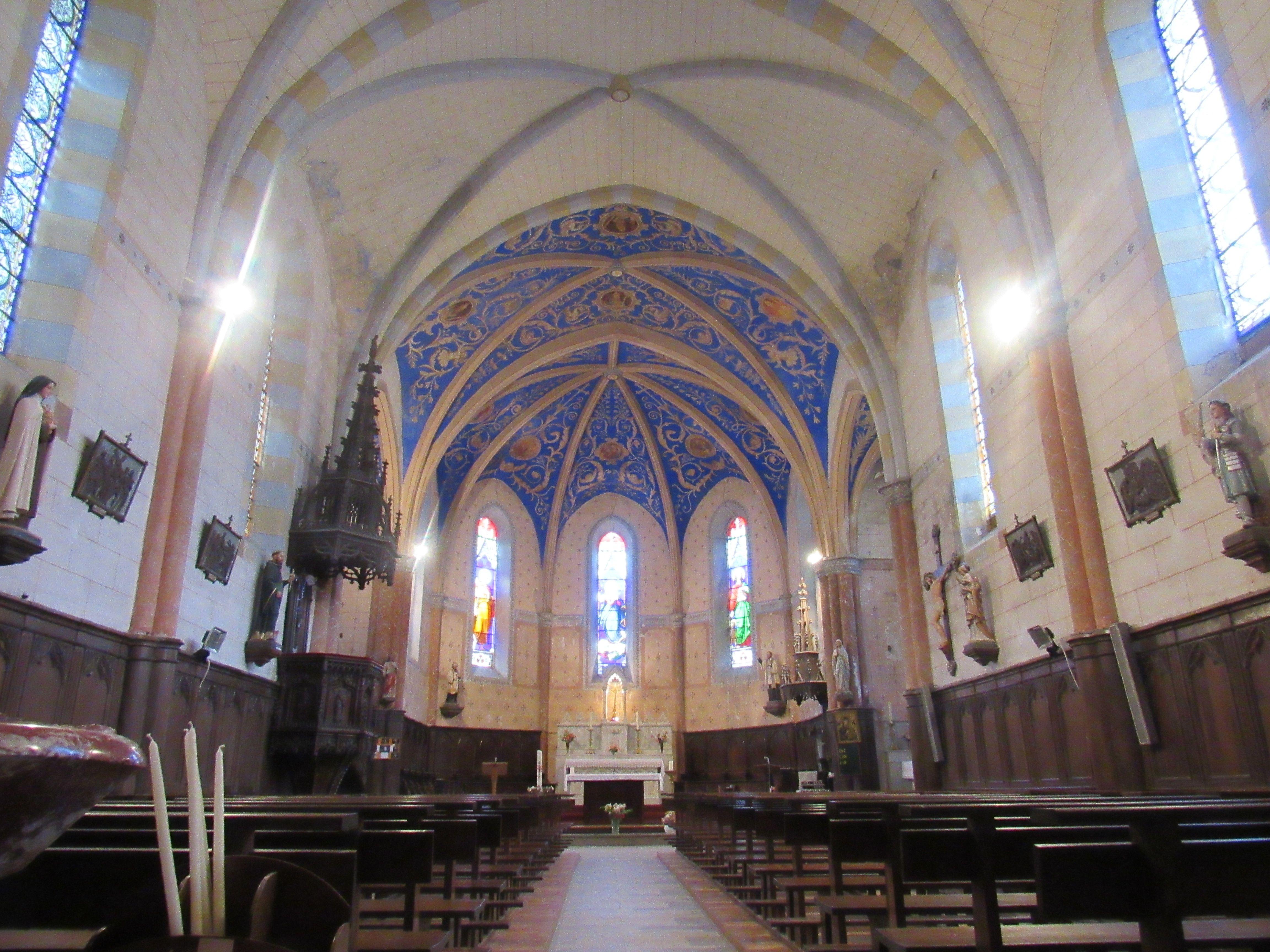 Église de Laroque à Fayet