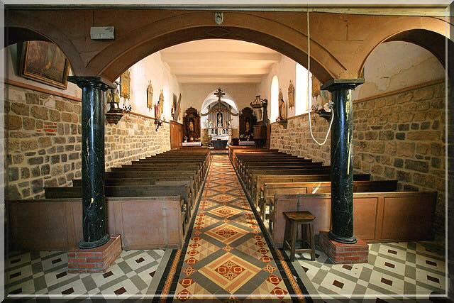 Eglise fortifiée de Saint-Nicolas d'Englancourt