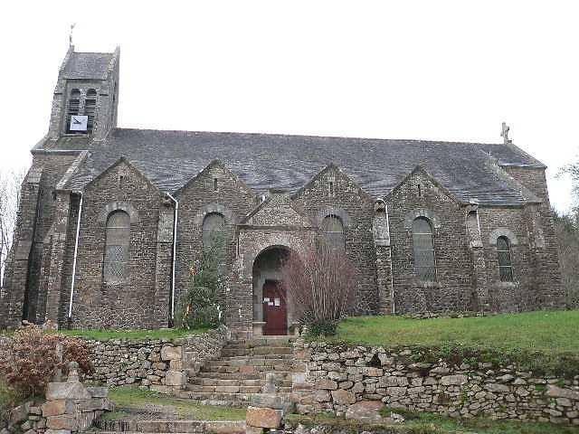 Église Saint-Eutrope à Botmeur
