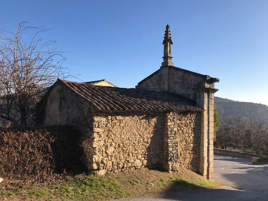 Chapelle Notre-Dame de l'Espérance à St Martin de Castillon