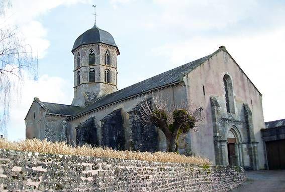 l'église de bard-le-régulier en côte-dor