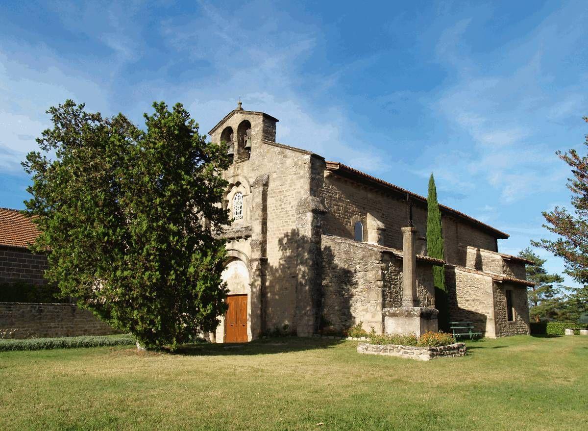 Eglise Sainte-Agnès de la Motte-de-Galaure dans la Drôme