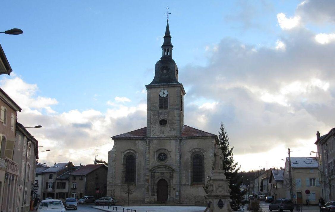 eglise saint-pierre de rosières-aux-salines
