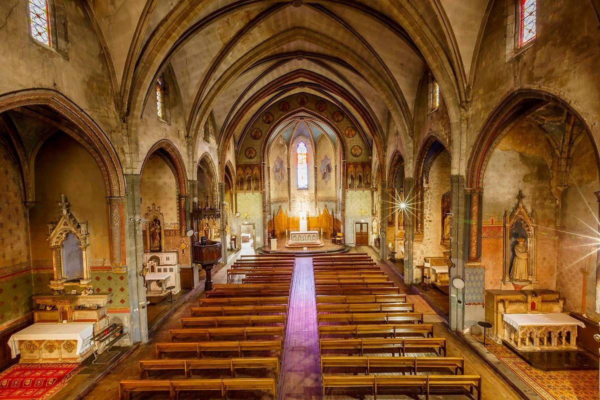 L'église Notre-Dame des Carmes à Carcassonne