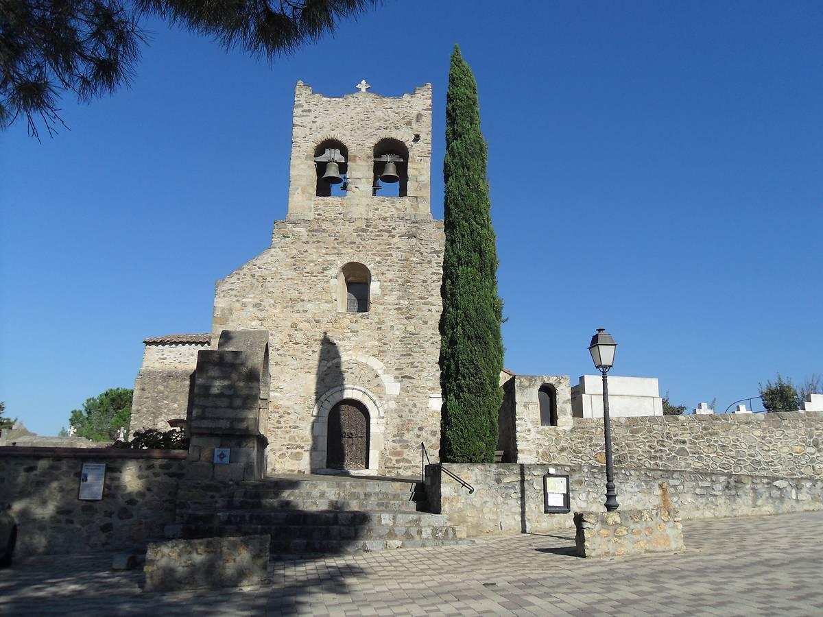 L'église de Saint-Saturnin de Montesquieu-des-Albères