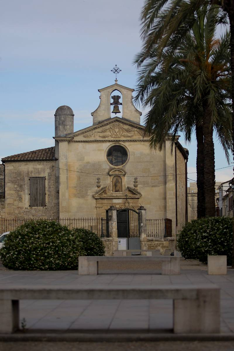 Chapelle de la Confrérie des Pénitents Gris d'Aigues-Mortes