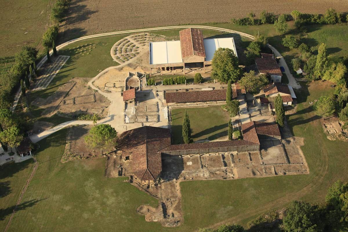Villa Gallo-romaine de Séviac dans le Gers