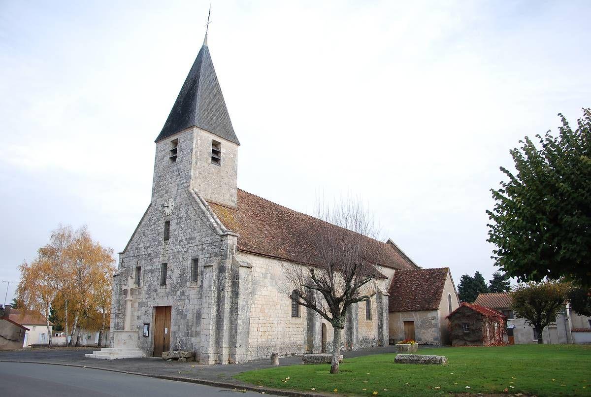 Eglise Saint-hIlaire de Paizay le Sec