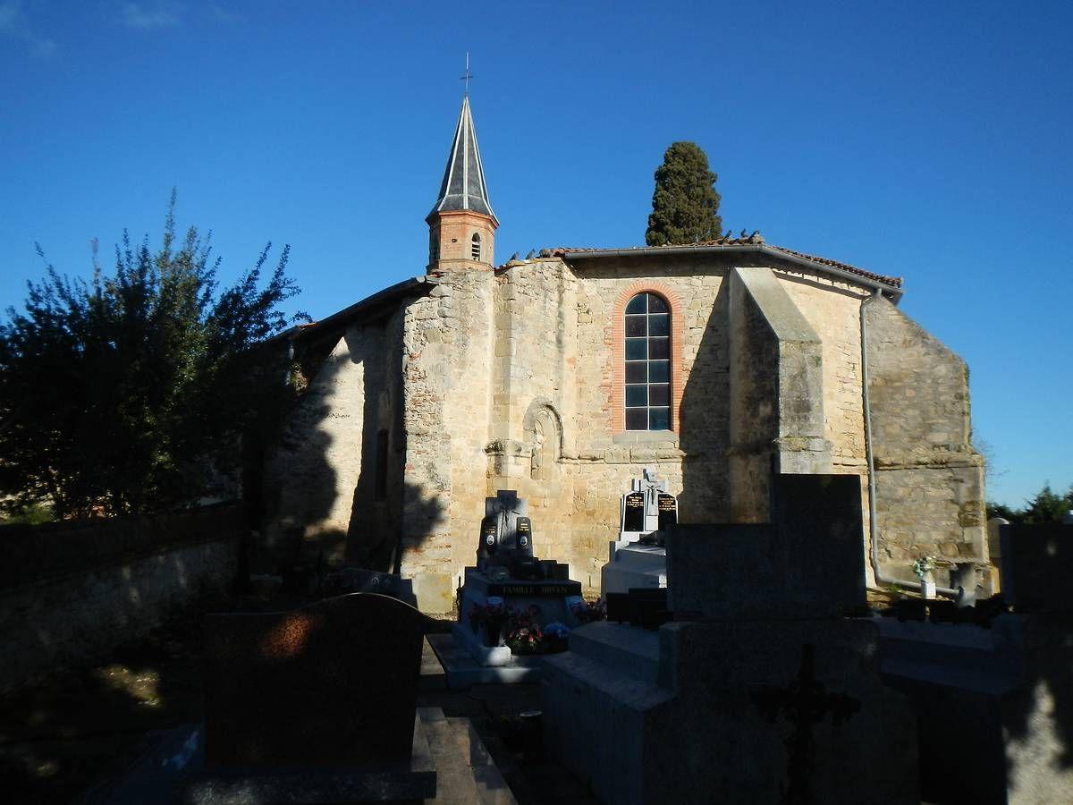 Église Saint-Eloi à La Salvetat-Lauragais