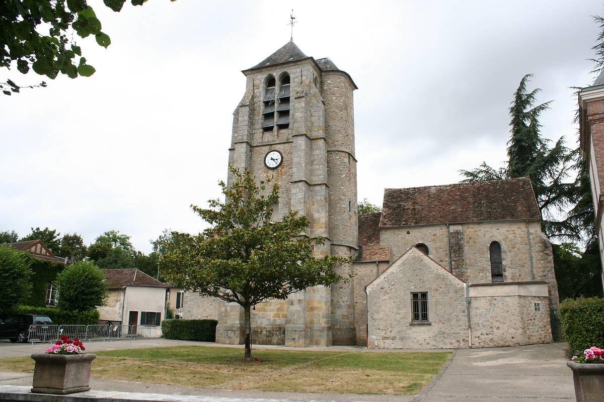 L'église Saint-Corneille de Chartrettes