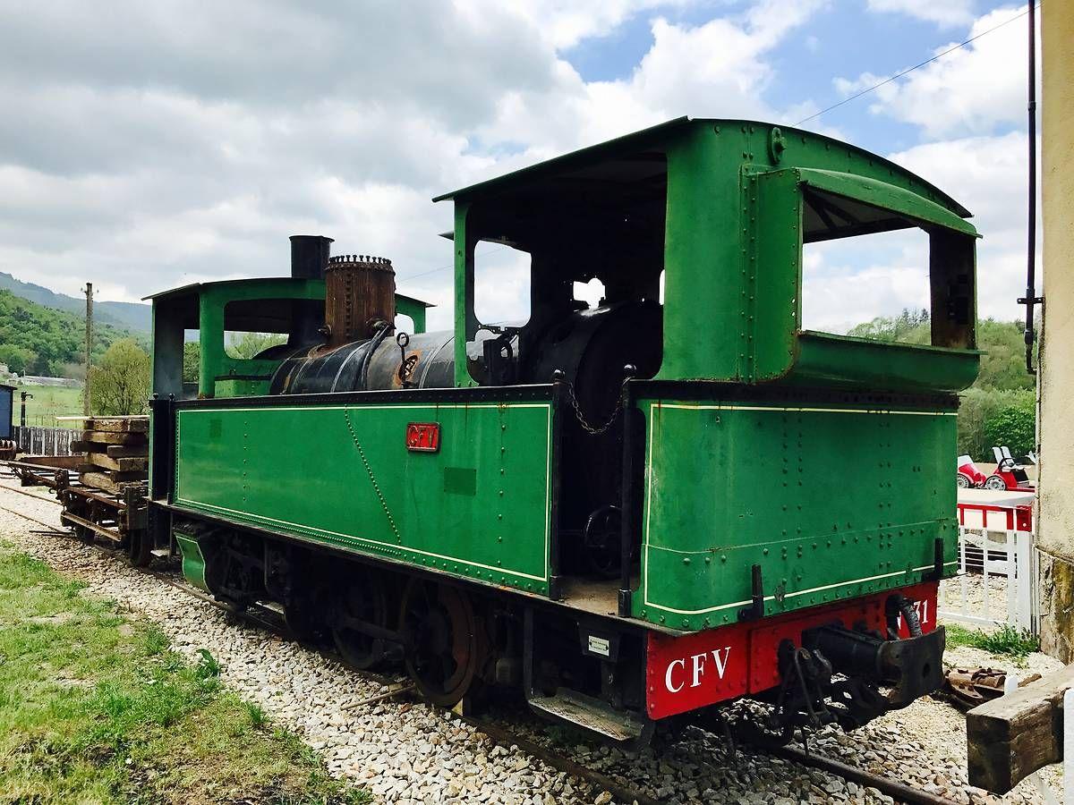 Locomotive à vapeur bicabine 31