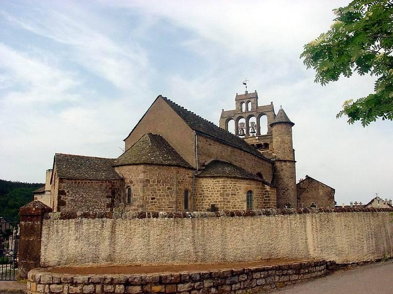Eglise Saint-Pierre à Allenc