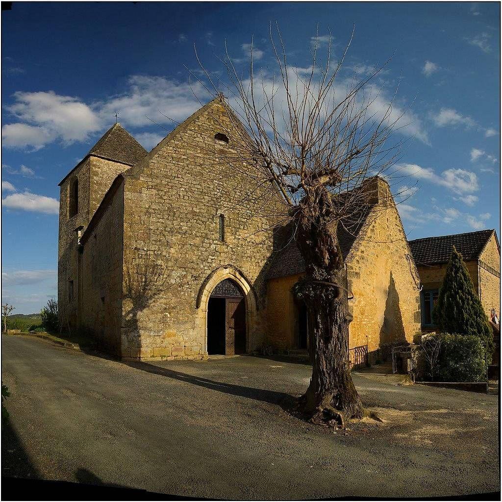 Eglise Saint-Cybard à Tamniès
