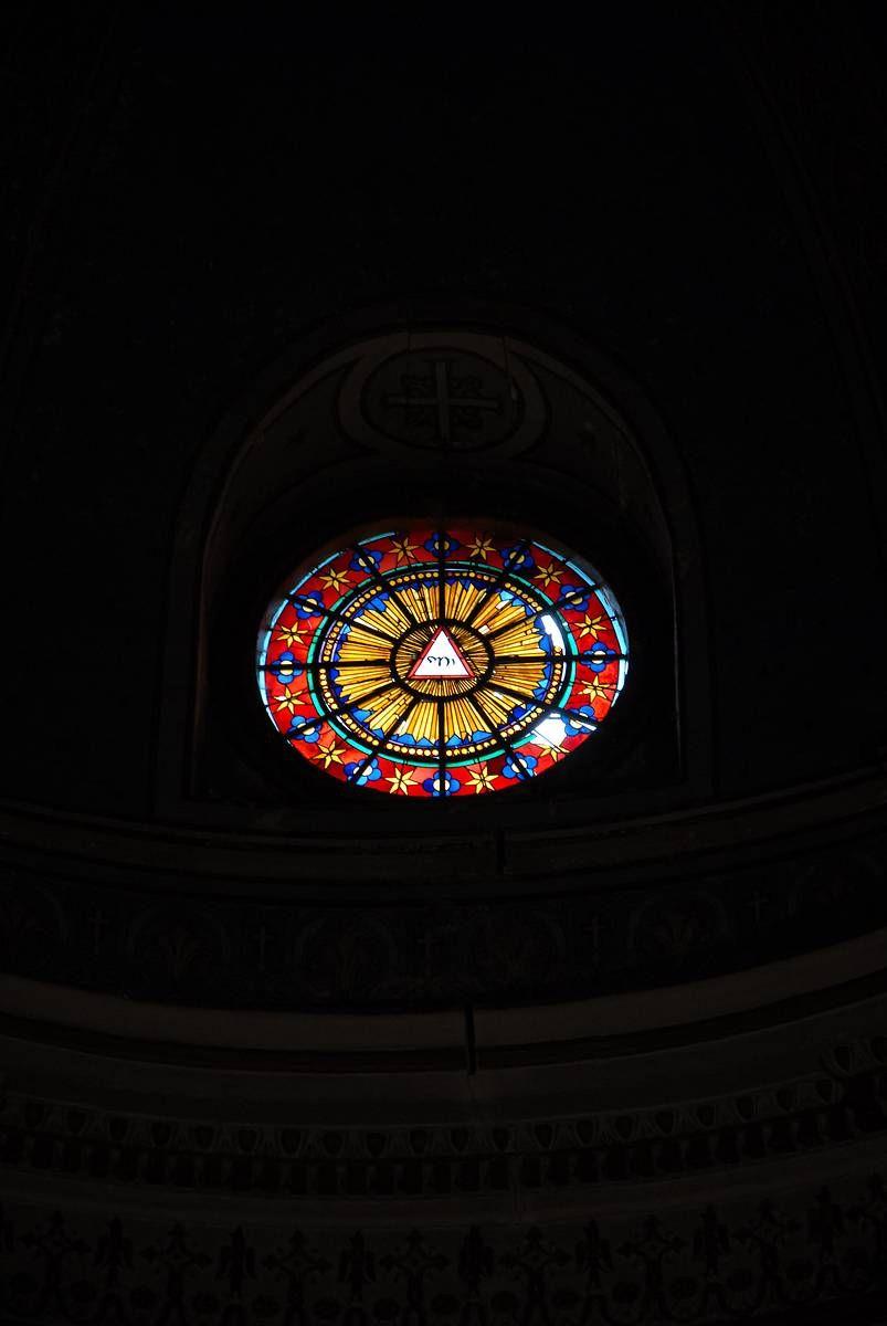 Vitraux de l'église Saint-Pierre au Mont-Ventoux : projet de restauration