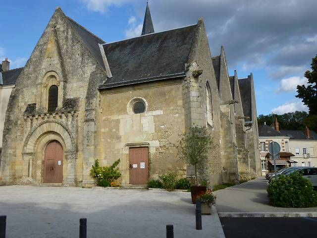 Eglise de la Sainte Trinité à Vernou-sur-Brenne