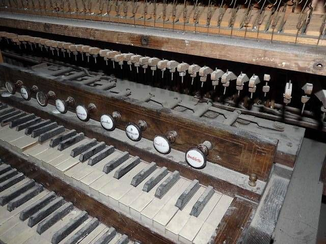 L'orgues de l'église de Saint-Michel