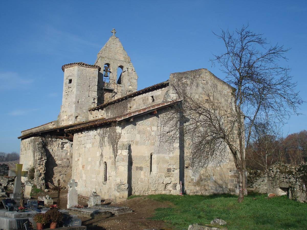 Eglise de Saint-Simon à Saint-Pé-Saint-Simon