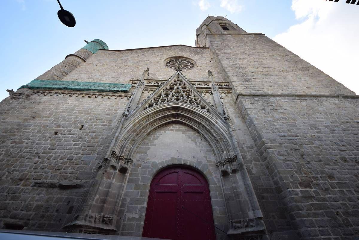 L'église Saint-Vincent de Carcassonne