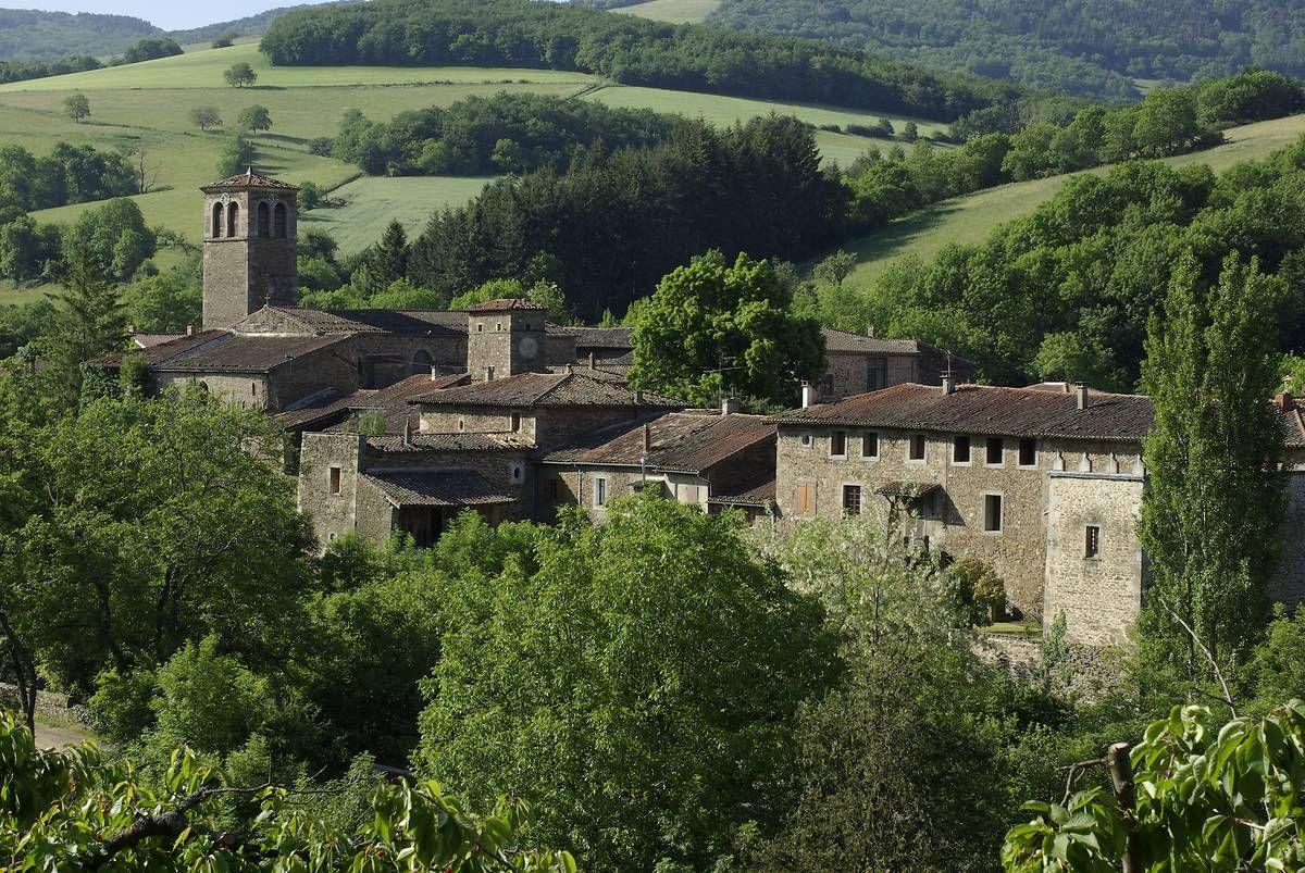 La Chartreuse et l'église de Sainte-Croix-en-Jarez