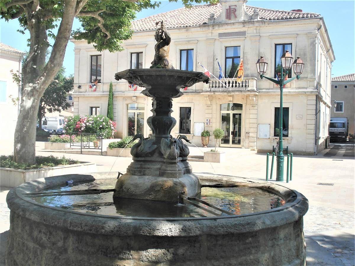 Fontaine de Sainte Cécile Les Vignes : projet de restauration
