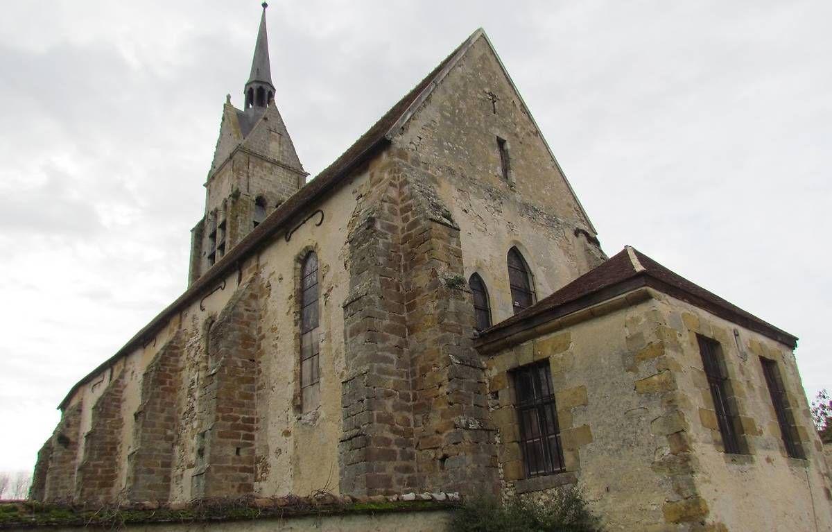 Eglise Saint-Cyr-et-Sainte-Julitte à Vimpelles