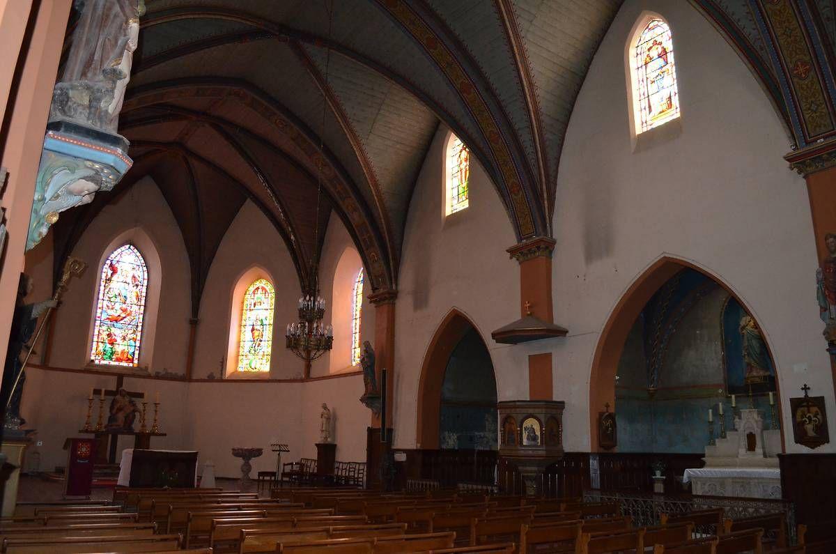 Église Saint-Maur et son orgue à Lévignac-sur-Save