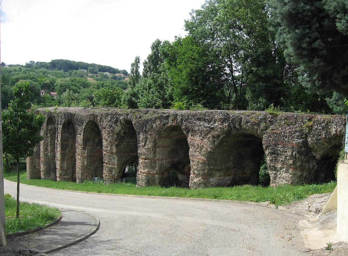 Pont-siphon de Beaunant à Sainte-Foy-les-Lyon