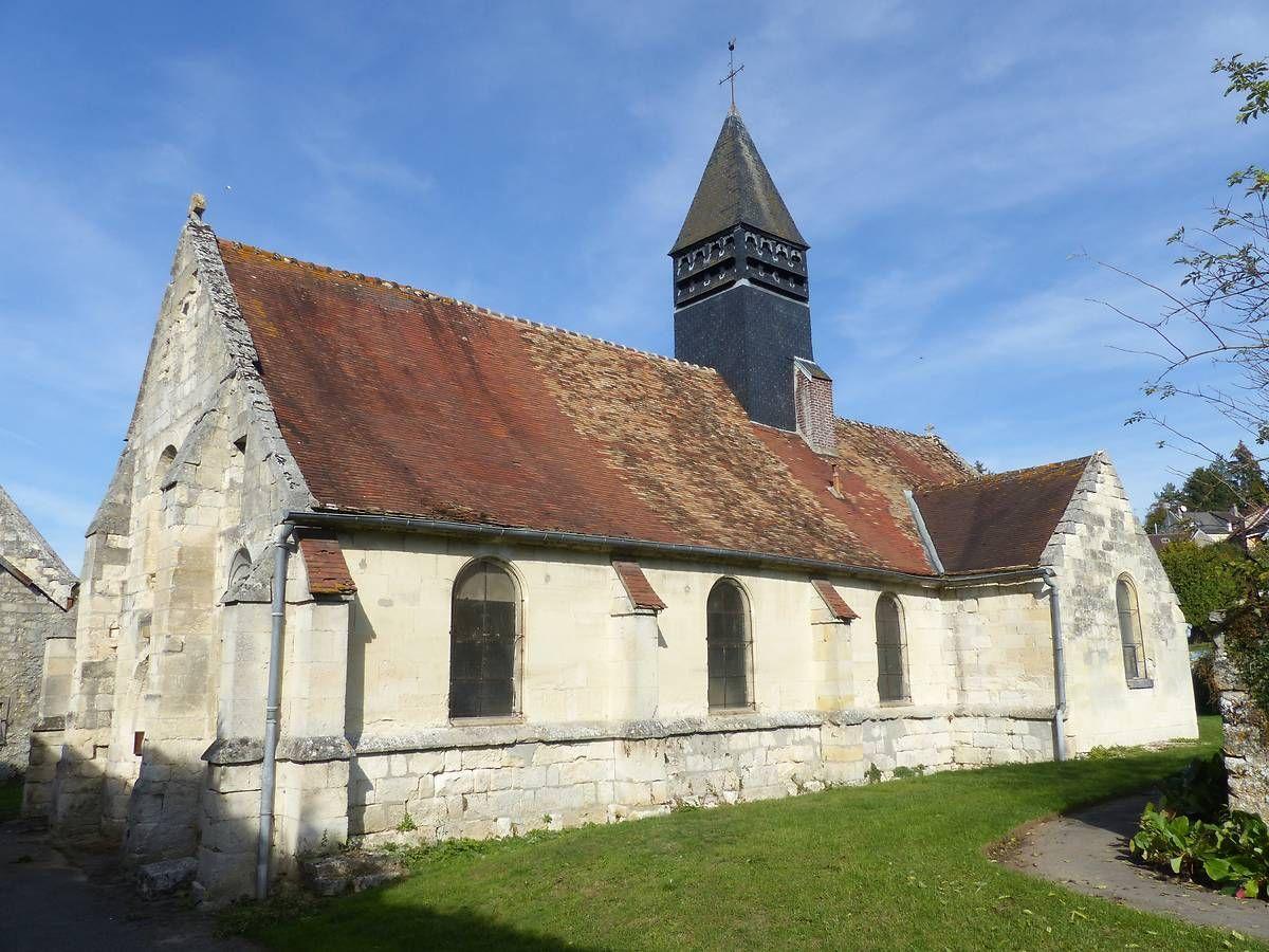 Eglise Saint-Pierre de Puiseux-en-Retz dans l'Aisne