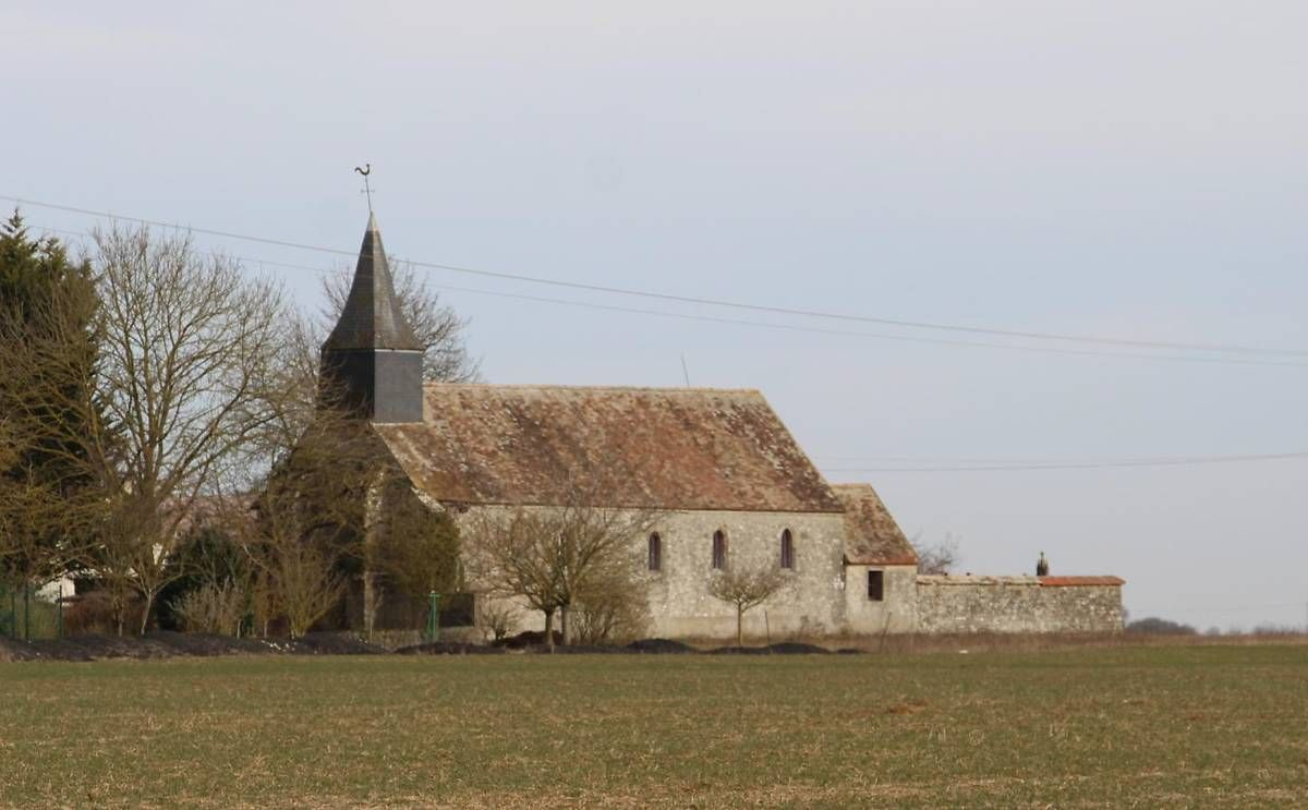 eglise saint médard d'orlu à gommerville
