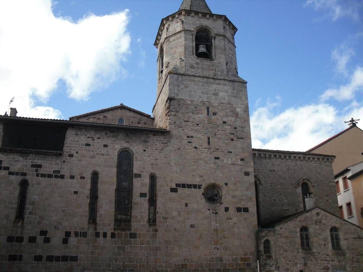 L'église St Gervais - St Protais à Langogne