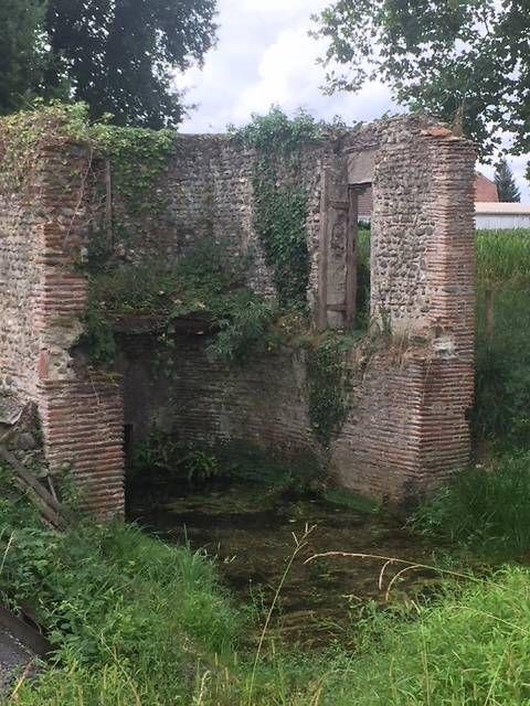 Moulin vue intérieure