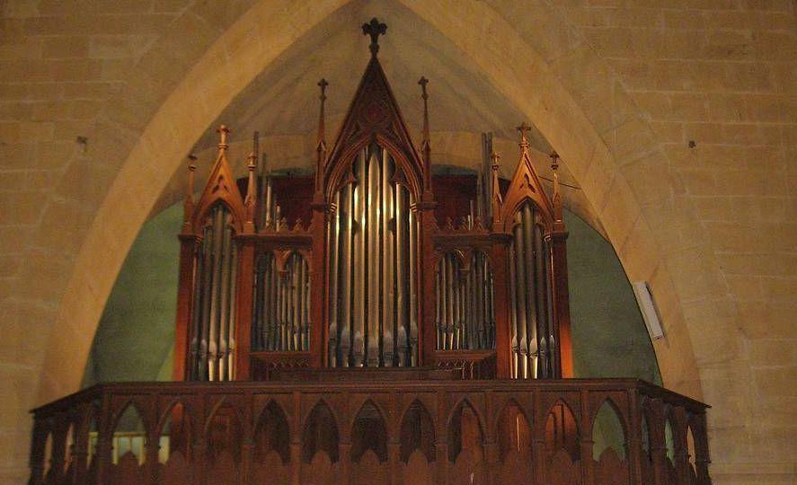 orgue de l'église de varennes en argonne