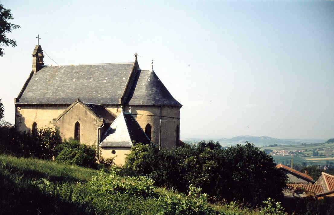 CHAPELLE DE CONTOURNAT À ST JULIEN DE COPPEL