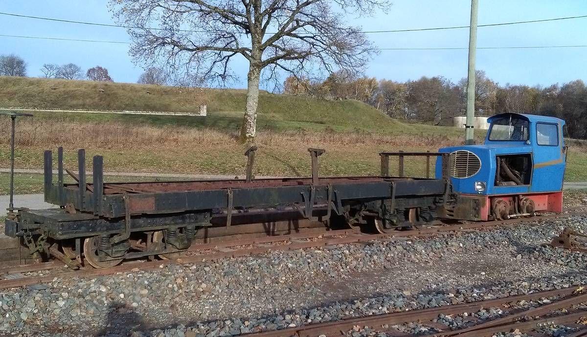 Train des Forts d'Uxegney dans les Vosges