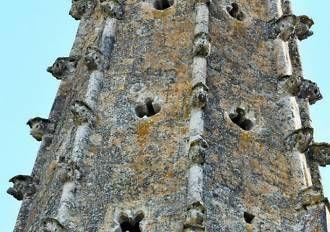 Détails clocher