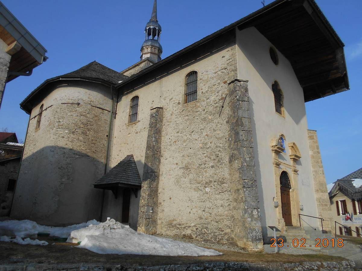 L'église de Saint-Nicolas-la-Chapelle en Savoie