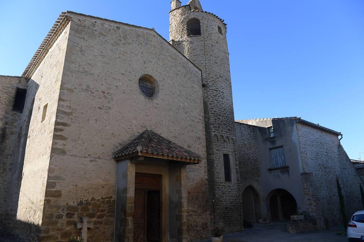 L'église Sainte-Colombe de la Digne d'Amont