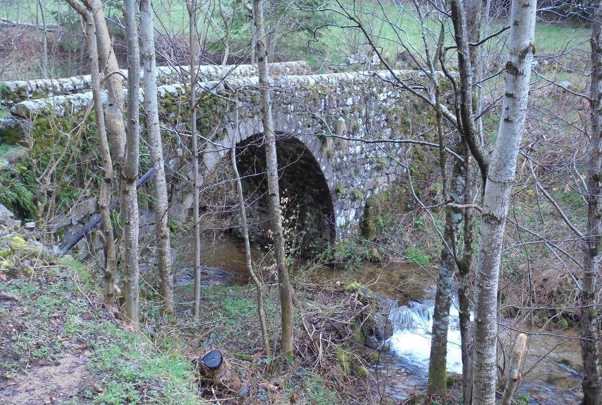 Pont du Fau à Saint Christol