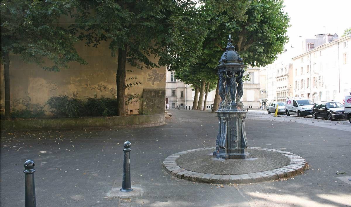 Fontaine Wallace de Nancy en Meurthe-et-Moselle