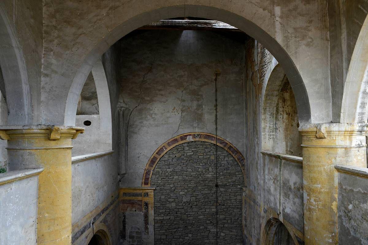 L'ancienne église paroissiale Saint-Pierre à Marguerittes