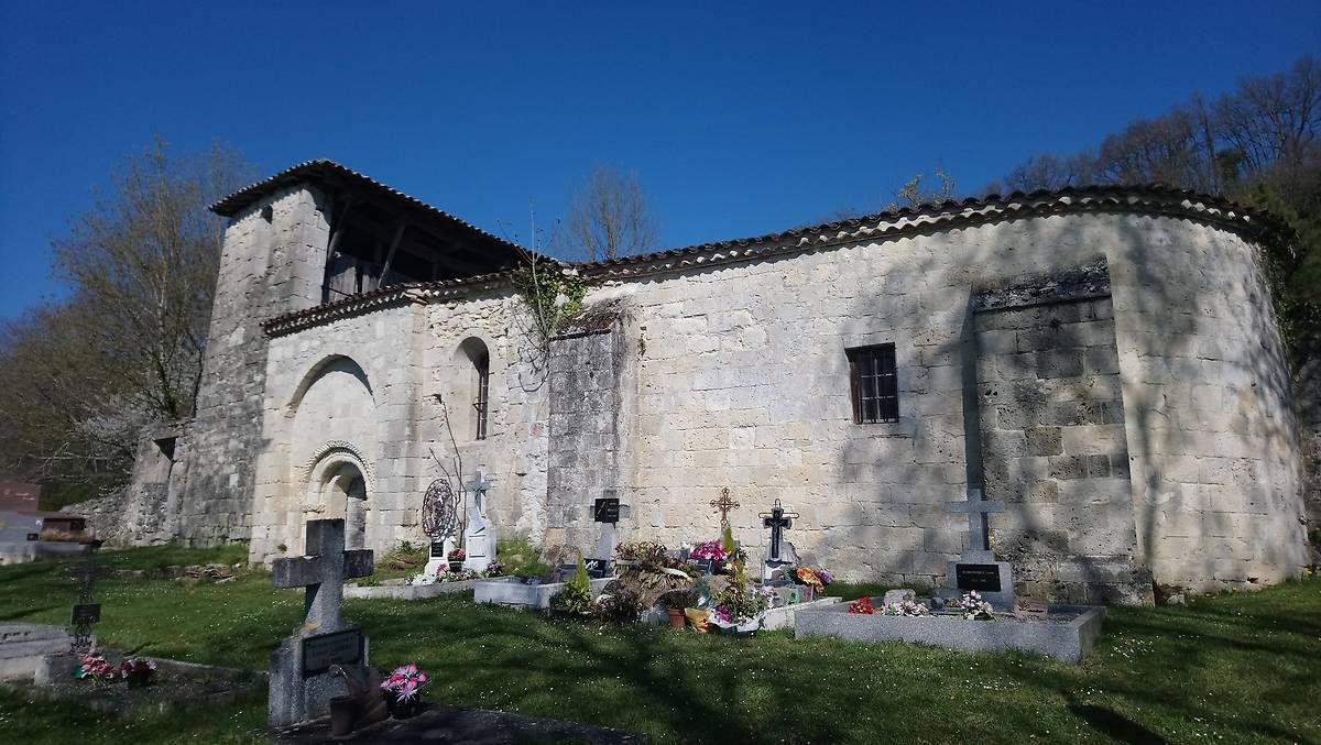 Eglise Sainte-Raffine à Frégimont
