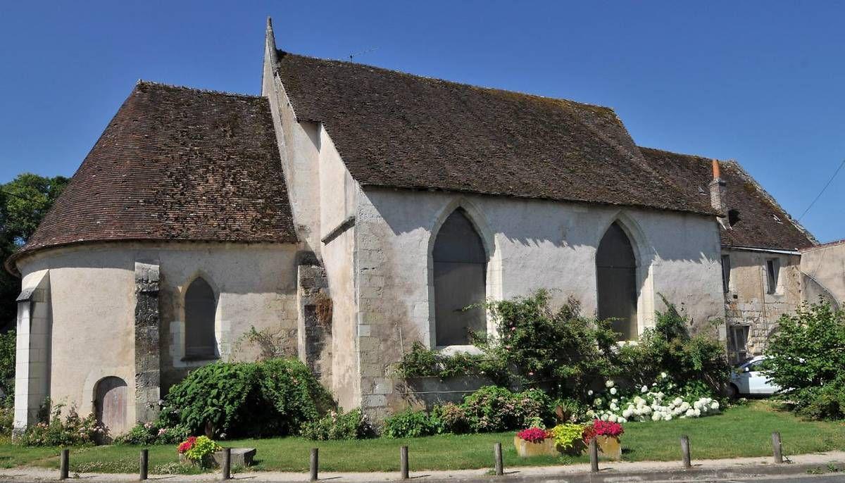 Eglise Saint-Oustrille de Montoire sur le Loir
