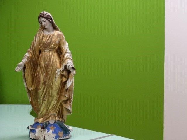 Statue de la Vierge à Chaspinhac