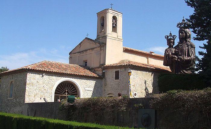 Chapelle Saint-Hospice à Saint-Jean-Cap-Ferrat